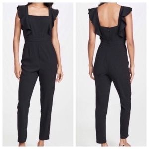 Cupcakes and cashmere Tamara black Jumpsuit 4 NWOT